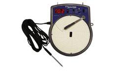 DeltaTrak - Model 14010, 14011, 14012 - Electronic Circular Temperature Chart Recorder
