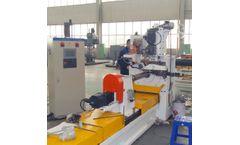 Renchun - Model HWJ200 - Wedge Wire Water Well Screen Producing Machine