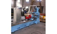 Renchun - Model HWJ300 - 316 Wedge Wire Screen Making Machine For Russia Oil Sepration and Filtration