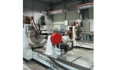 Renchun - Model HWJ300 - Gas Filtration 316L Welded Wire Mesh Machine 20A With TBI Ball Screw