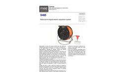MAE - Model S485 - Multichannel Digital Seismic Acquisition System - Datasheet