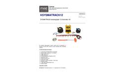 MAE - Model KSYSMATRACK12 - Seismograph 12 Channels Kit - Datasheet