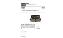 Model S3SS - 3D Seismic Sensor for Seismic Monitoring 4.5 Hz - Datasheet
