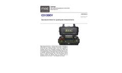 MAE - Model C313SEV - Georesistivimeter for Quadrupole Measurements - Datasheet