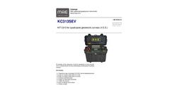 MAE - Model KC313SEV - Quadrupole Survey Resistivimeter - Datasheet
