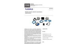 MAE - Model TLOGWLS - Wireless Heat Flux Meter for Transmittance Measurements - Datasheet
