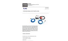 MAE - Model TLW3 - 3 Channels Wireless Unit for Heat Flux Meter - Datasheet