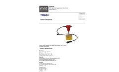 MAE - Model TRG14 - Starter Vertical Geophone - Datasheet