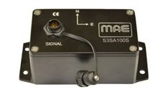 MAE - Model S3SA100S - 3D Accelerometer Sensor for Seismic Monitoring 100mV/g