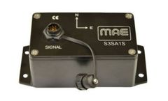MAE - Model S3SA1S - 3D Accelerometer Sensor for Seismic Monitoring 1 V/g