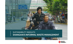 New Report: Informal Waste Management in China