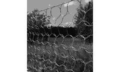 Rockfall protection ring net ASM