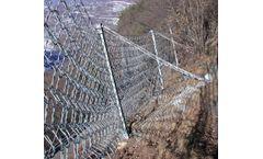 Rockfall protection barrier ASM