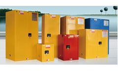 SAFOO - Model SF - Flammable liquids storage cabinet