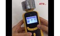 ATO Portable Gas Detector Setting