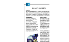 Exhaust Silencers Brochure