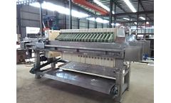 Shuangfa - Stainless Steel Filter Press
