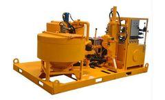 Sinogrout - Model SGP400/700-100D - Grout Plant for Dam Construction