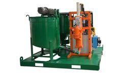 Sinogrout - Model SGP300/350/85PL-E - Electric Grout Plant