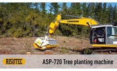 Risutec ASP-720 Tree Planting Machine - Video