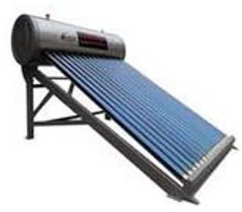 Audary - Model ADL-6078 - Non-Pressurized Solar Water Heater