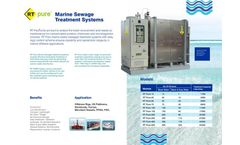 RT-Solutions - Model RT Pure-M - Marine Sewage Treatment Plant Brochure