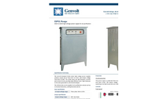 Model ESP01 Series - High Voltage Bench Power Supply System for Air Purification Brochure