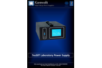 Model 7XX30T - Touch Screen Laboratory Bench Power Supply System Brochure