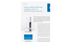 TSHR - Model HR 7100 - Liquids Autosampler - Brochure