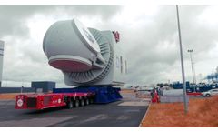 GE Renewable Energy`s Haliade-X 12 MW Nacelle Unveiled - Video