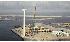 Haliade-X Offshore Wind Turbine - Installation Time Lapse - Video