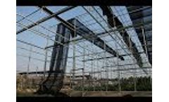Installation of sun shade/net for plants (part 6)--installation of sunshade net Video