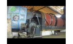 Electroplating Sludge Drying, Metal Sludge Drying Video