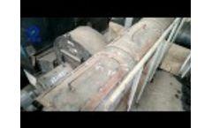 Sludge Waste Drying Machine Video