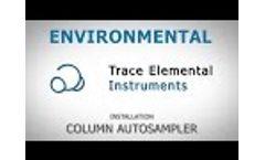 Environmental - Installation column autosampler - Video