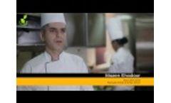 Greengood Composting Machine at Ramada Hotel Ajman Video