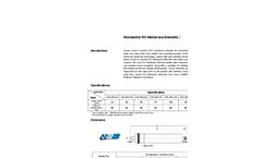 Ospura - Model 24-100GPD - Residential RO Membrane Elements Brochure