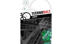 Technobalt - Model CBC 01 - Chain Belt Conveyors Brochure