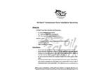 OilShark Fence Fabric Installation Guidelines Brochure