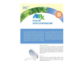 AirxLabs - Model RX 17 - Stick-On Odor Counteractant - SpecSheet