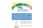 AirxLabs - Model RX 15 - Concentrated Disinfectant Cleaner - Brochure
