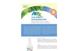 AirxLabs - Model RX 22 - High Intensity Odor Counteractant Spray - Brochure