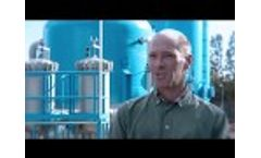 Fluence Brackish Water Desalination Plant in Cyprus, Garillis - Video