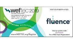 Join Fluence at WEFTEC 2019