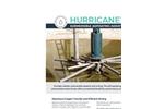 Hurricane - Submersible Aspirating Aerator/Mixer - Brochure