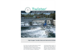 Fluence Twister - Low-Speed Surface Aerator - Brochure