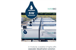 Fluence NIROBOX - Model SW - Containerized Seawater Desalination Plant - Brochure