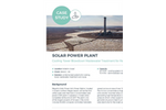 Power plant cooling tower wastewater treatment for reuse