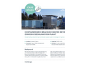 Containerized Brackish Water Reverse Osmosis Desalination Plant aiding severe drought in Cyprus