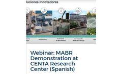 Webinar: MABR Demonstration at CENTA Research Center (Spanish)